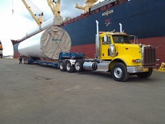 Wind Project Tower Transport